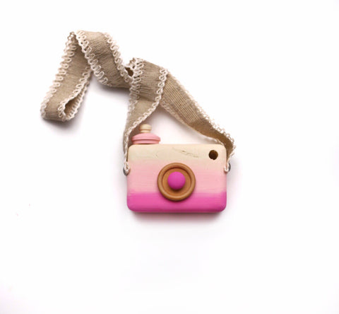 Imperfect Pink Ombre Camera