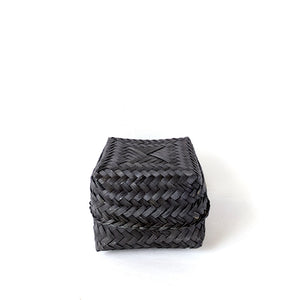 Wayan Black Bamboo Box