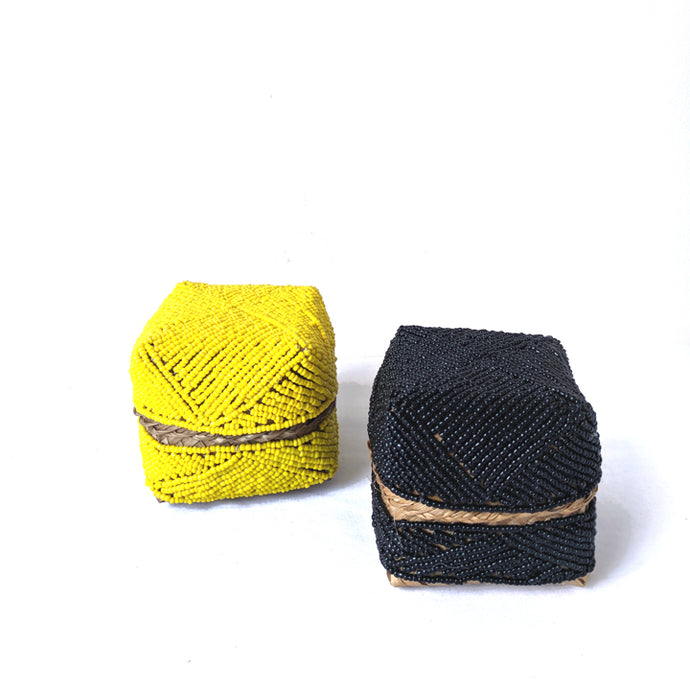 Amertha Beaded Mini Boxes