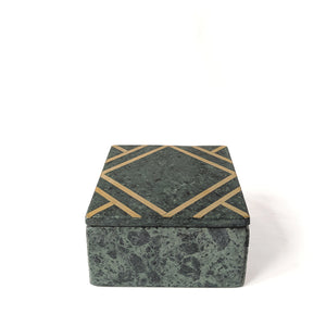 Green Stone Marble Box