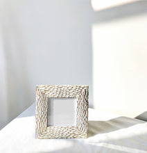 Load image into Gallery viewer, White / Gold Detail Frame