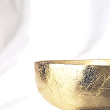 Load image into Gallery viewer, Gold Glass Bowl