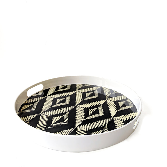 Printed round tray