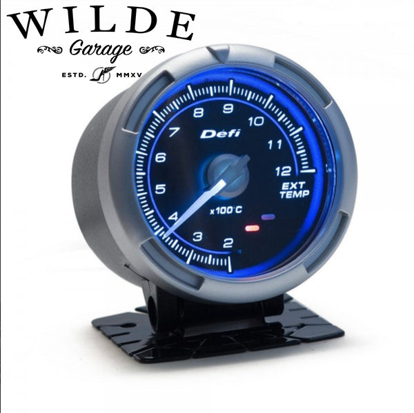 DEFI C2 Style Gauge - BLUE - 60mm Link Meter, BF OIL TEMP