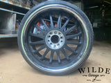 "Multi fit 22"" wheels"