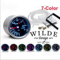 "7 COLOUR Type R 2"" 52mm Gauge Universal Fit"