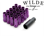Wheel Nuts M12 x 1.5 PURPLE