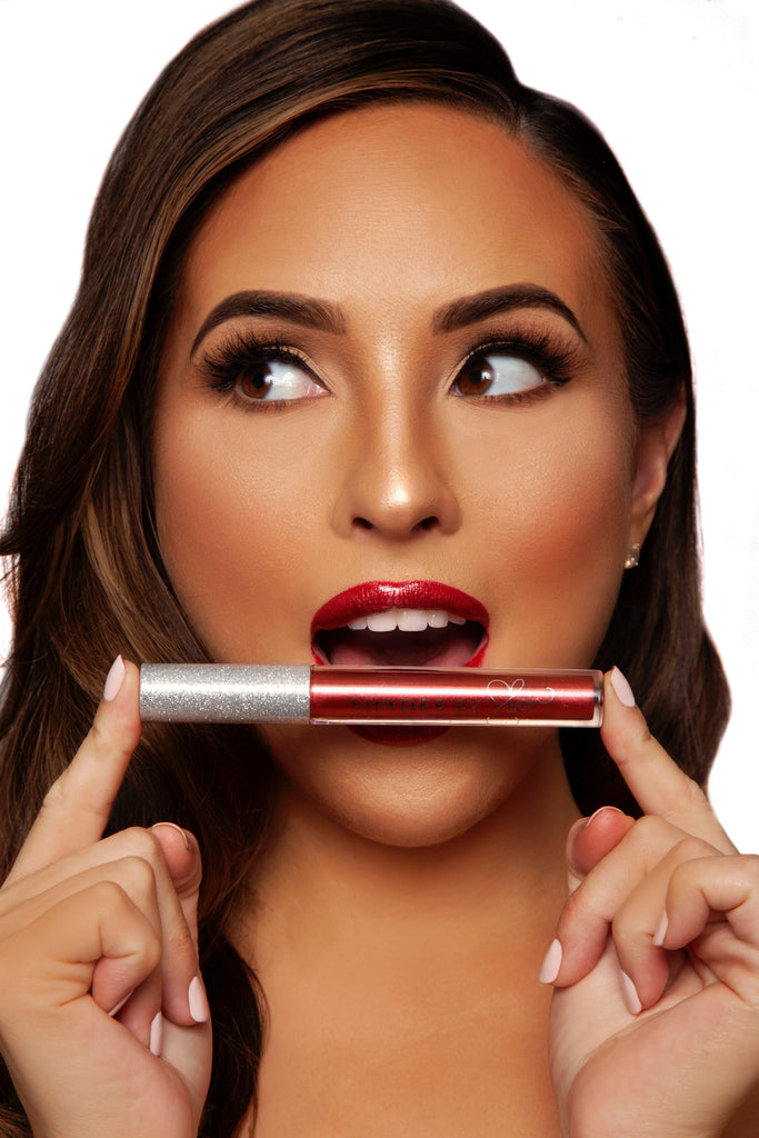 Red Ribbon Holiday Lip Gloss