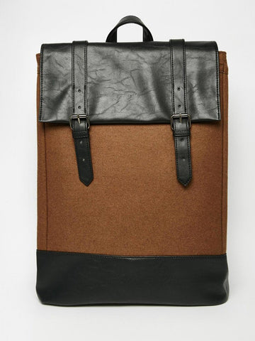 melton wool bag