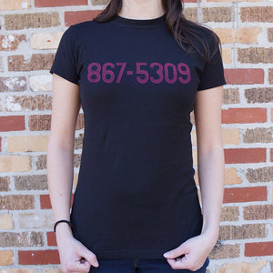 Pop Culture 80s Song 867-5309 Graphic T-Shirt