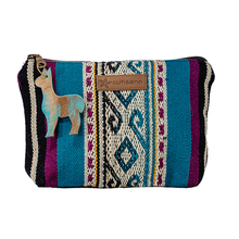 Makeup Pouch in Northern Waves