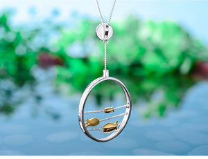 Gone Fishing Pendant