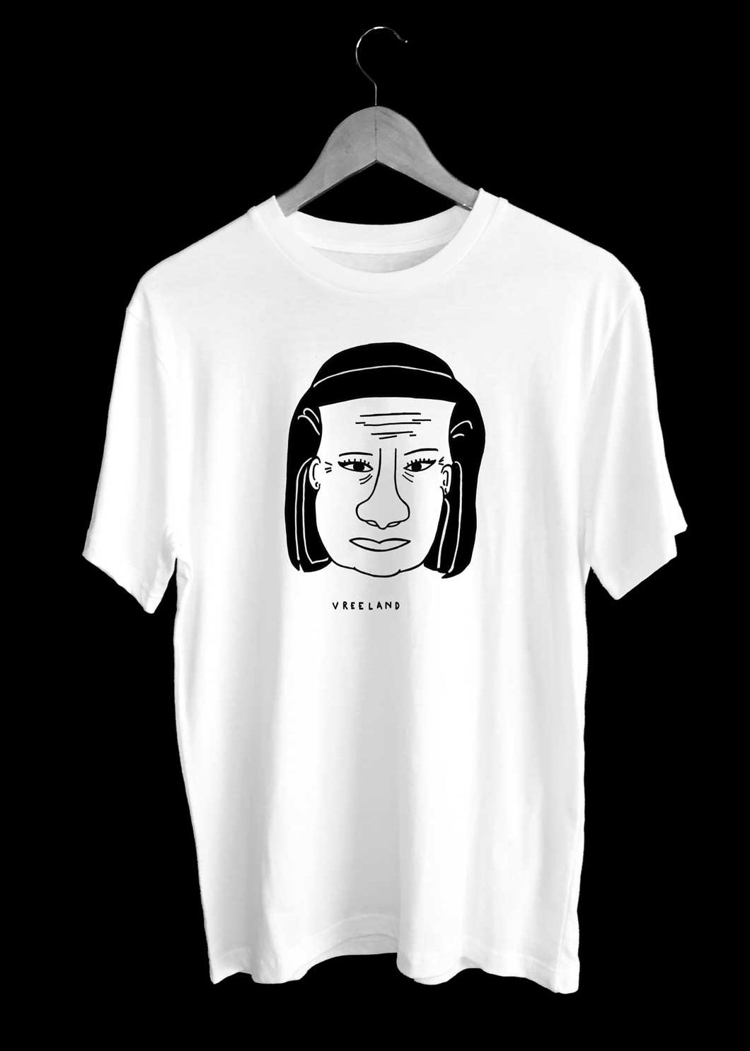 Diana VREELAND Illustration T-Shirt by TILONE