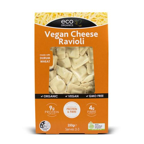 Vegan Cheese Ravioli
