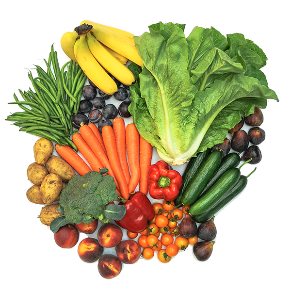 100% Certified Organic Large Fruit & Veg Box