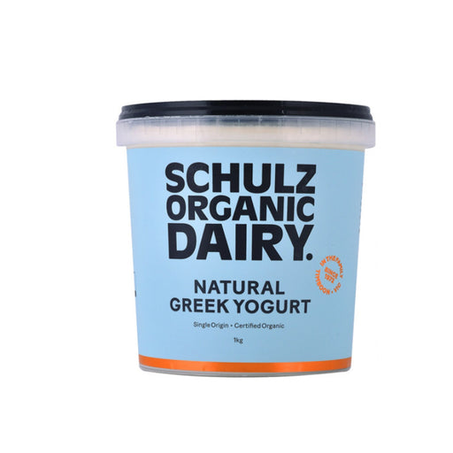 Schulz Biodynamic Organic Greek Yogurt 1L