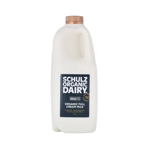 Schulz Organic Full Cream Milk 2L