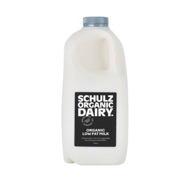 Schulz Organic Low Fat Milk 2L