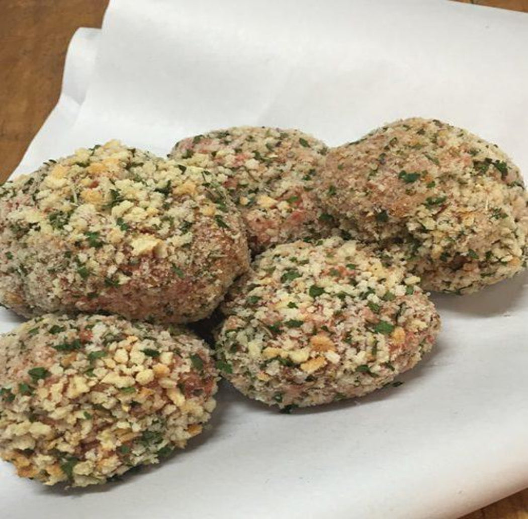 Hormone Free Beef & Veg Rissoles- Pack of 6