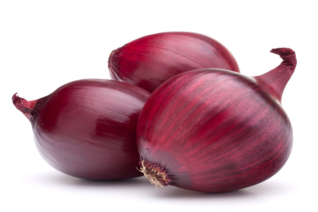 Certified Organic Red Onions Min. 500g