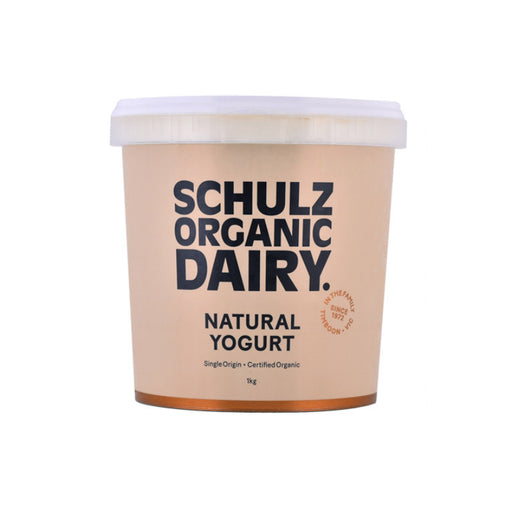 Schulz Biodynamic Organic Natural Yogurt 1L