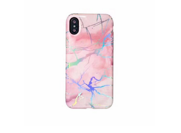 Pink Friday Marble iPhone Case