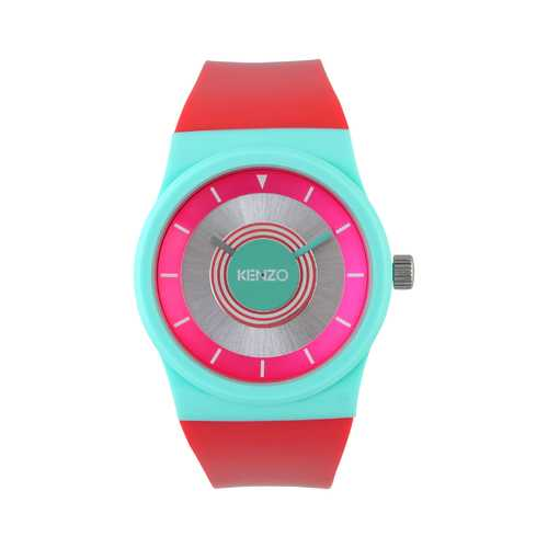 Gender: Unisex<br />Color: Red<br />watch<br />- silicone strap<br />- two hand movement<br />- indexes in contrasting colors<br />- case diameter:  36 mm<br />- buckle closure<br />- type of mechanism:  quartz<br />- 5 atm, water resistant to 50 meters