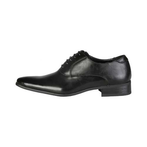 Gender: Men<br />Color: Black<br />men's lace-up shoes ᐧ - upper:  synthetic leather ᐧ - interior:  synthetic material ᐧ - sole:  rubber ᐧ - details:  lace-up, smooth leather, double seams