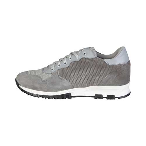 Gender: Men<br />Color: Grey<br />spring-summer collection<br />- men's low sneakers with laces<br />- 100% made in italy<br />- upper:  suede, nappa leather, network fabric<br />- interior:  textile material<br />- sole:  rubber, round tip