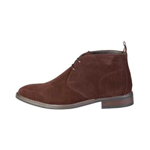 Gender: Men<br />Color: Brown<br />fall/winter collection<br />- man laces shoes, suede effect<br />- upper:  synthetic leather<br />- interior:  synthetic material<br />- sole:  rubber