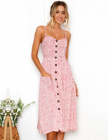 Spaghetti Strap Summer Sundress