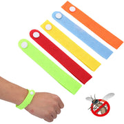 10-Pcs Multicolor Adjustable Mosquito Bug Repellant Bracelet