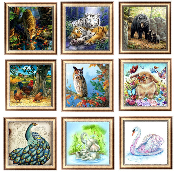 5D Diamond Mosaic Painting - Variety Pictures to Choose From