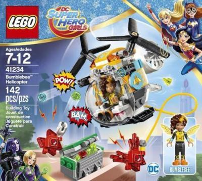 LEGO DC Super Hero Girls Bumblebee Helicopter