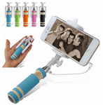 Mini Cellphone Wired Remote Selfie Stick