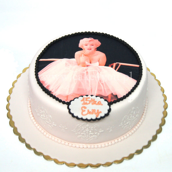 Cake Icing Edible Image Print, Circle - 20cm diameter 7.8 inches