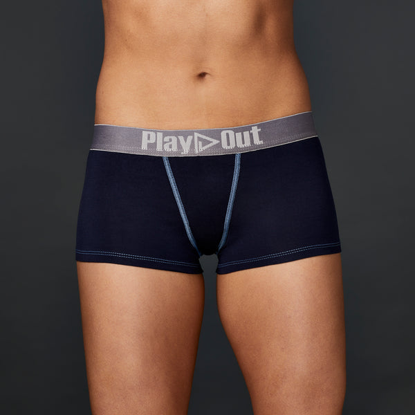 Play Out Low Rise Boxer Brief Navy