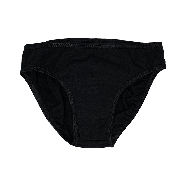 LeoLines Tucking Briefs Black - Kids