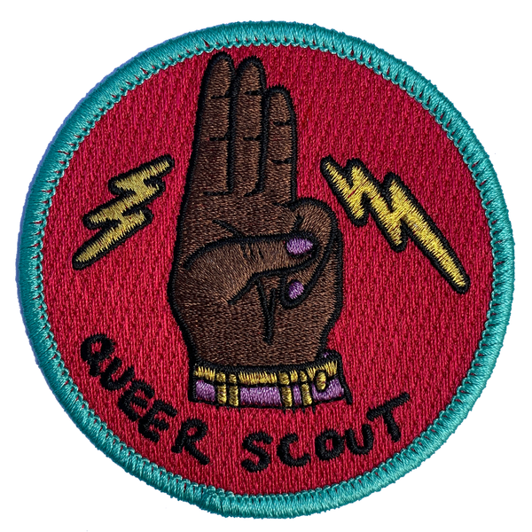Queer Scout Patch Magenta