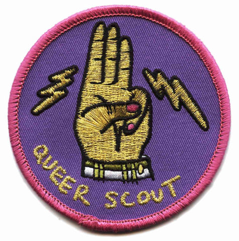 Queer Scout Patch - Sock Drawer Heroes | For the Trans & Gender Variant Community