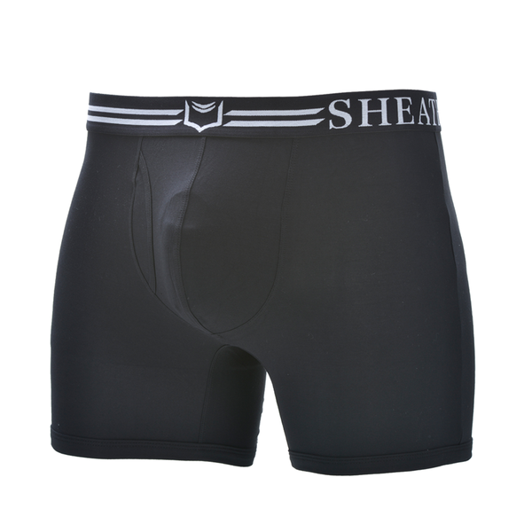 Sheath 4.0 Boxer Brief Black/White
