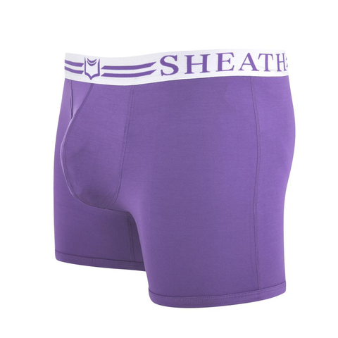 Sheath 4.0 Boxer Brief Purple