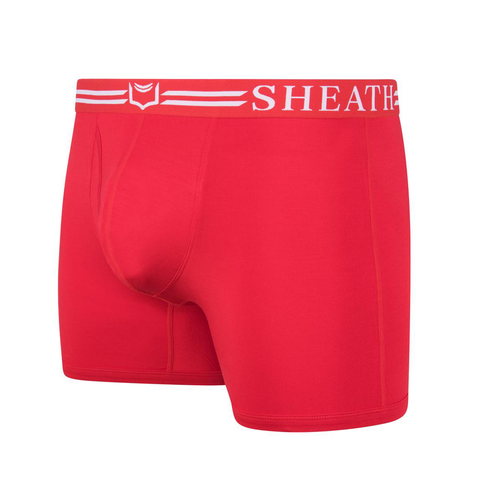 Sheath 4.0 Boxer Brief Red