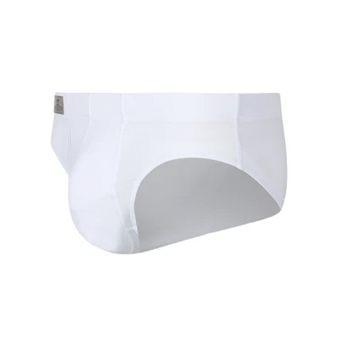 Sheath Dual Pouch Briefs White