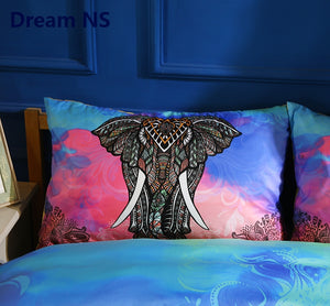 "Elephant Bedding Set Quilt Cover ""US sizes"""