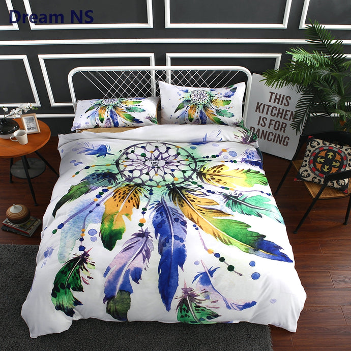Dreamcatcher Bedding Set Indian Hippie Duvet Cover