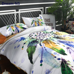 "Dreamcatcher Bedding Set Indian Hippie Duvet Cover ""US Sizes"""
