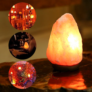 Himalayan Crystal Salt Lamp Natural Mineral Rock Table Lamp