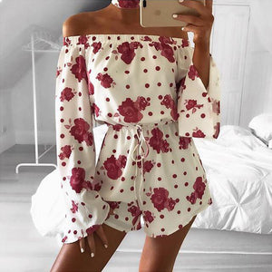 Summer Floral Print Romper Jumpsuits Boho 10 Different Designs