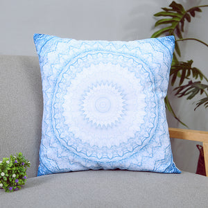 Blue Mandala Boho Vintage Cushion Covers